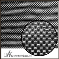 Matrix grill cloth gray and black