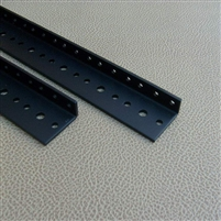 Pre-cut rack rails -Pair
