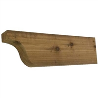 Cedar Rafter Tail, Style - RT03