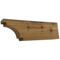 Cedar Rafter Tail, Style - RT06