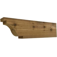 Cedar Rafter Tail, Style - RT08