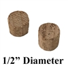 "1/2"" Cedar Wood Bung/Plug for Screw Hole Covering (Pack of 2 Plugs)"