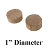 "1"" Cedar Wood Bung/Plug for Screw Hole Covering (Pack of 2 Plugs)"