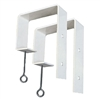 "2""x8"" - Deck Rail Window Box Hooks"