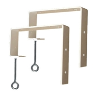 "2""x6"" - Deck Rail Window Box Hooks"