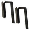 "2"" - Fence Hooks for Metal Window Boxes"