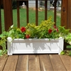 "42"" Cape Cod Self Watering PVC Planter"