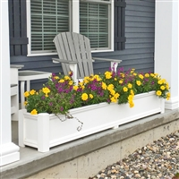 "54"" Cape Cod Self Watering PVC Planter"