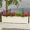 "60"" Cape Cod Self Watering PVC Planter"