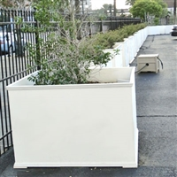 "36"" x 24"" x 36"" Charleston Square PVC Outdoor Planter"