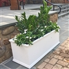 "18"" x 18"" x 48"" Charleston Extra Large PVC Outdoor Planter"