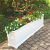 "60"" Charleston Self Watering Decorative Rectangular Planter"