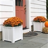"22"" x 22"" x 22"" Daisy Cube Shaped Planter for Outdoors"