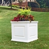 "18"" x 18"" x 18"" Manhattan Deluxe Style PVC Outdoor Planter"