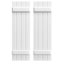 4-Batten Board and 2-Batten Composite Shutters