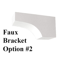 Faux Window Box Bracket, Style 2