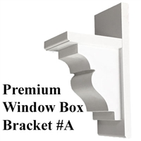 Premium Window Box Bracket #A
