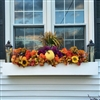 "72"" Modern Self Watering PVC Window Box"
