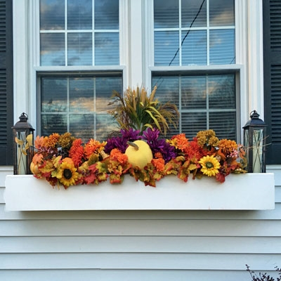 "96"" Modern Self Watering PVC Window Box"
