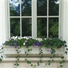 "66"" White Traditional PVC Window Box - No Rot"