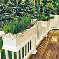 Deck Rail Planters Deck Balcony And Porch Railing Planters