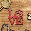 LOVE Animals Keychain