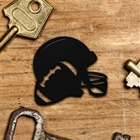Football Helmet Keychain