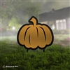 3D Metal Pumpkin Yard Ornament