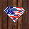 Superman American Flag 3D (3 pieces, Printed)
