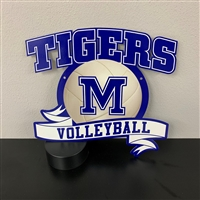 Memorial Tigers Volleyball