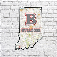 Bosse Bulldogs Indiana Map