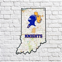 Castle Knights Indiana Map