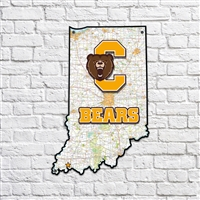 Central Bears Indiana Map