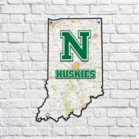 North Huskies Indiana Map