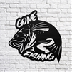 Gone out Fishing Bass