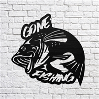 Gone Fishing Bass