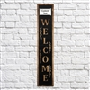 Outdoor Welcome Sign Includes Custom Nameplate