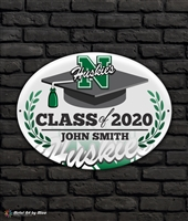 2020 North Graduation Metal Plaque