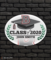 2020 Bosse Graduation Metal Plaque