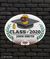 2020 Central Graduation Metal Plaque