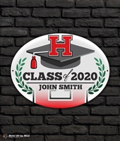 2020 Harrison Graduation Metal Plaque
