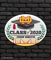 2020 Mater Dei Graduation Metal Plaque