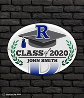 2020 Reitz Graduation Metal Plaque