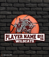 Custom Mt Vernon Wildcats Basketball