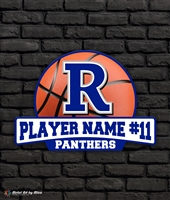 Custom Reitz Panthers Basketball