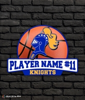 Custom Castle Knights Basketball