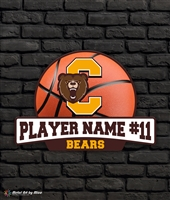 Custom Central Bears Basketball