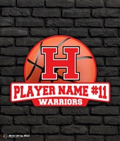 Custom Harrison Warriors Basketball