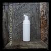 White Mini Cylinder Foamer Bottle with White Pump
