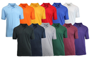 wholesale mens pique polo shirts